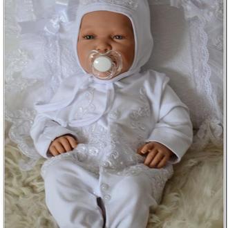 Набор комплект  для новорожденных на выписку Венский сад