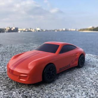 """Деревянная игрушка - машинка """"Porsche 911 Red Sport"""""""