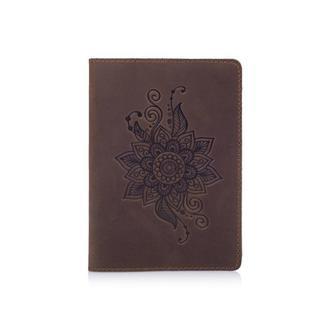 """Обложка для паспорта HiArt PC-01 Shabby Сognac """"Mehendi Classic"""""""