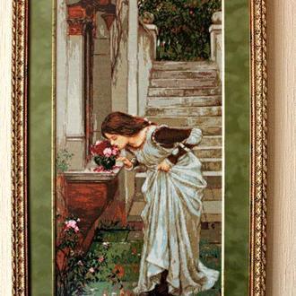 "Вышитая картина ""Аромат роз"" 62*39 см"