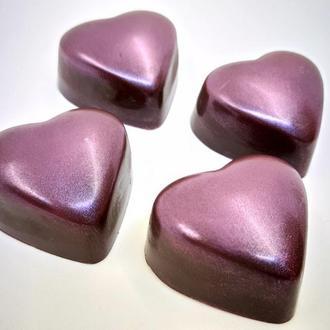 """Корпусная шоколадная конфета """"Горячее сердце"""""""