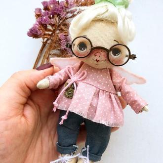 Ангелочек.Текстильная куколка