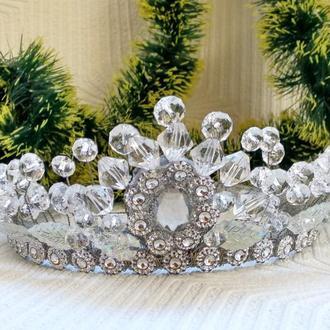 Корона  - ободок новогодняя