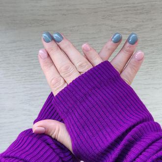 Митенки ONE SIZE «Фиолетовый»