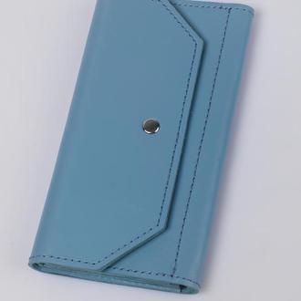 Портмоне 03-01, голубое