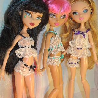 Кружевные комплекты для кукол Monster High, Ever Aver After High