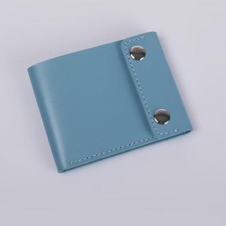 Мини кошелек 03-03, голубой