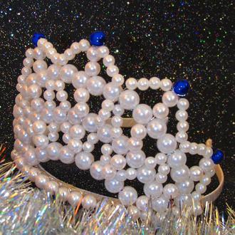 """Новогодняя корона  """"Эльза"""""""