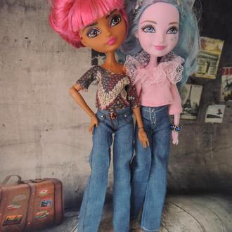 Джинсы и тишотка для кукол Эвер Афтер Хай
