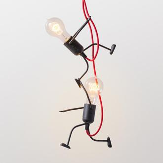 "Люстра ""Ironman friends"" на дві лампочки"