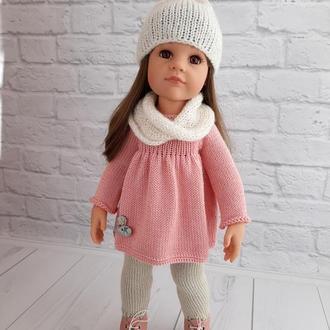 Одежда на куклу Готц Ханна 50 см Пудровый