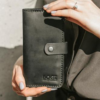 """Кожаный кошелек, портмоне """"Long+"""""""