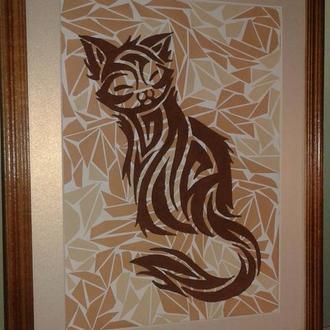 Картина Cat