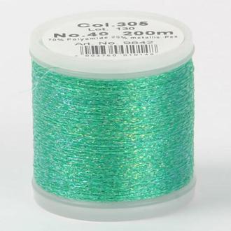 Metallic №40 вискоза/металлизированный полиэфир для вышивания (200м)