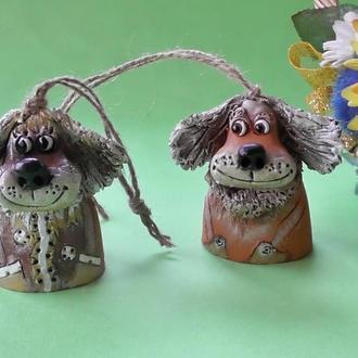 Две Собачки Колокольчики друзья
