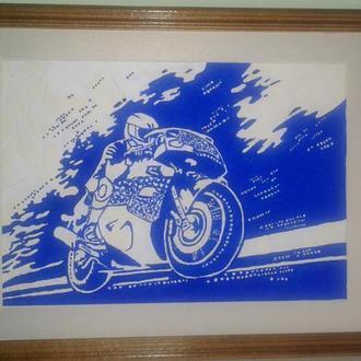 Картина Biker