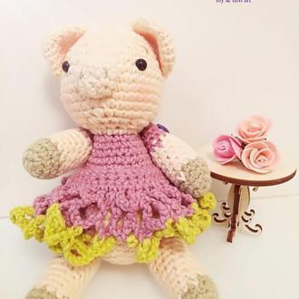 Свинка кукла Мими