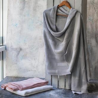 Палантин ФАНГ 80х190 серый