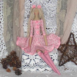 Кукла в стиле Тильда Роза