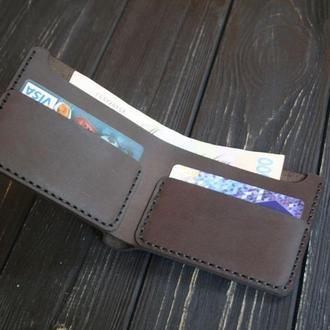 """Мінімалістичний шкіряний гаманець Classic від """"écorce"""""""