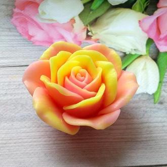 Сувенирное мыло роза в коробке