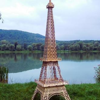 Деревянная эйфелева башня Ейфелева вежа для фотозони з дерева