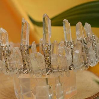 Корона, диадема из горного хрусталя ′Принцесса Мелисента′