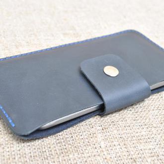 Темно-синий чехол для телефона H17-600+blue