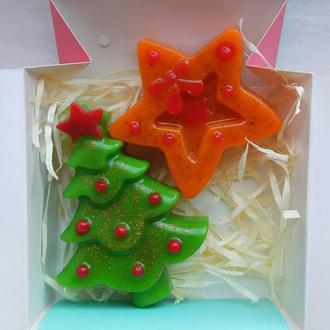 Набор новогоднего мыла