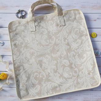 Сумка-органайзер для рукоделия (Дорожная сумка для Q-snap) Crema, размер М