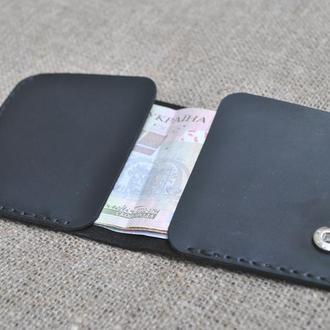 Маленький кошелек для кармана из кожи K79-0