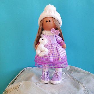 Кукла с единорогом
