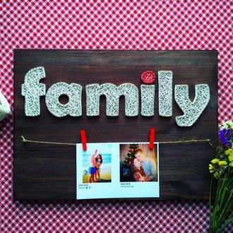 """Рамка для фото """"Family"""""""