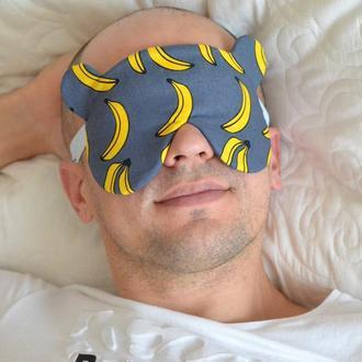Мужская маска для сна (ММС013)