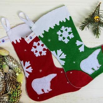 Рождественские сапожки для сладостей