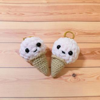 Брелок мягкая игрушка  мороженое
