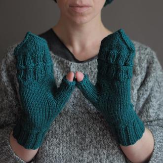 "рукавиці ""Зелена фактура"""