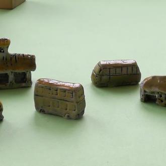 Керамическая миниатюра набор №2