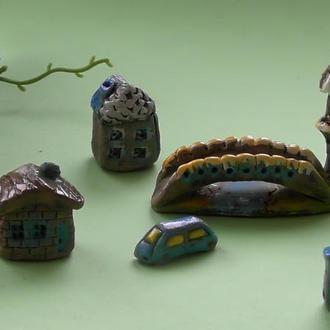 Керамическая миниатюра набор №3
