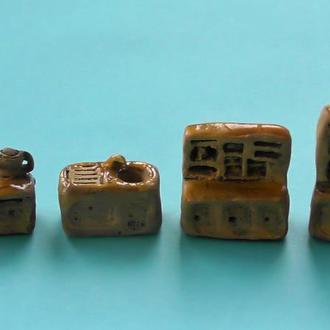 Керамическая миниатюра кухня