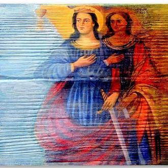 СВЯТЫЕ ВАРВАРА И МАРИЯ ЕГИПЕТСКАЯ