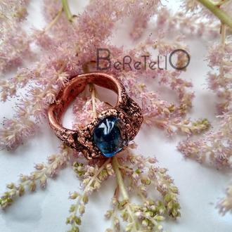 кольцо Капля моря