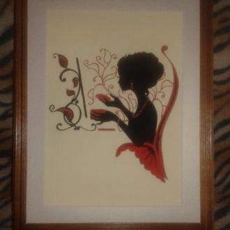 Картина Mademoiselle