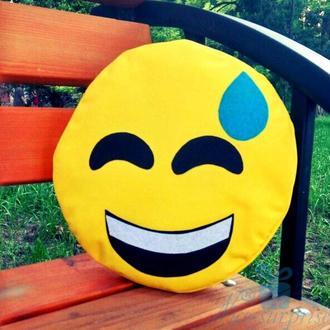 Подушка-смайлик Emoji Весёлый