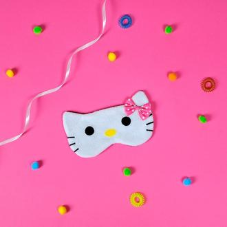 Маска для сна Hello Kitty