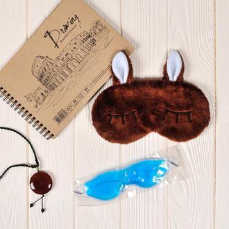 Маска для сна Deer с охлаждающим гелем