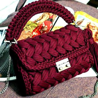 Стильная сумка-кроссбоди Zeffirka.