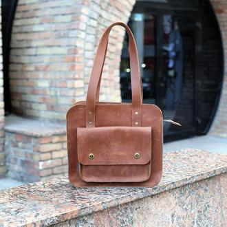 Стильная женская сумка, Кожаная повседневная сумка, Женская кожаная сумка с гравировкой