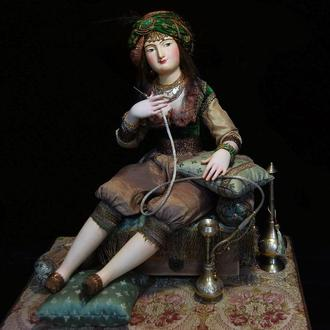 Авторская художественная кукла. Хадижа. Восточная Сказка