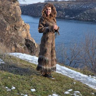 Пальто валяное Норвегия